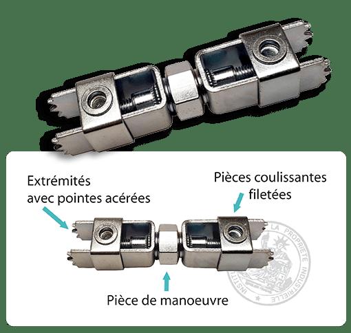 Fixalustre une Innovation Française Brevetée