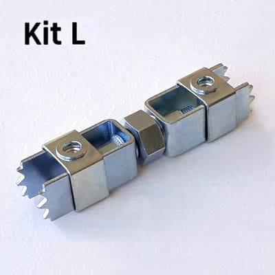 FIXALUSTRE KIT L : Pour boîtes diamètre 78 à 92 mm