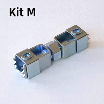 FIXALUSTRE KIT M : Pour boîtes diamètre 68 à 77 mm