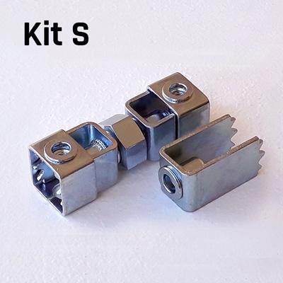 FIXALUSTRE KIT S : Pour boîtes diamètre 53 à 67 mm.
